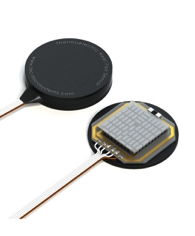 Thermoelectric Heat Flux Sensors with ultra-high sensitivity