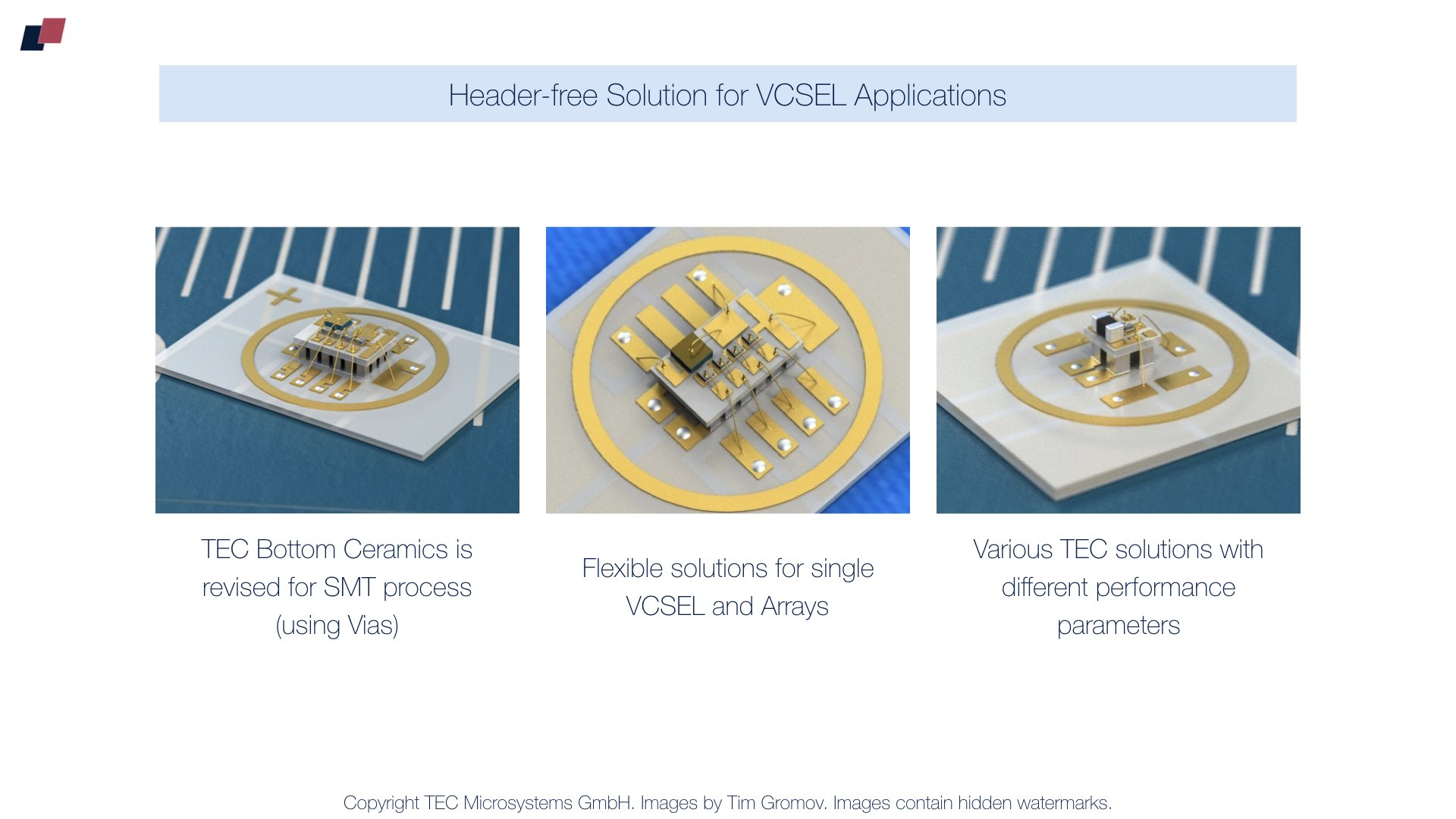 Header-free Thermoelectric Coolers